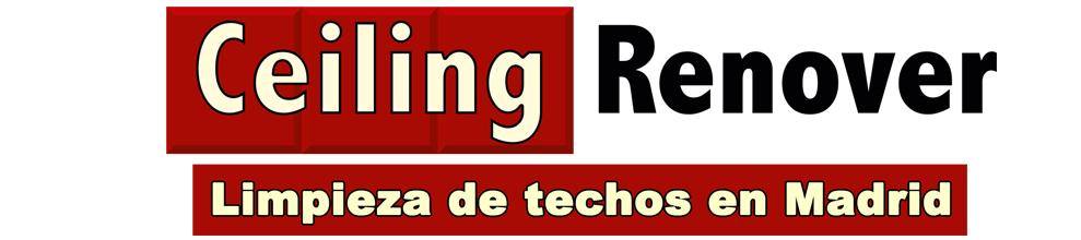 Ceiling Renover Limpieza de techos Madrid logo